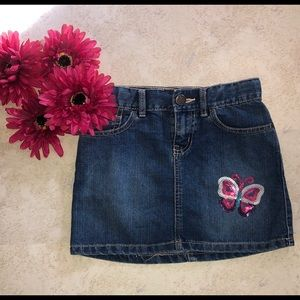 Children's place girls jean skirt sz 8